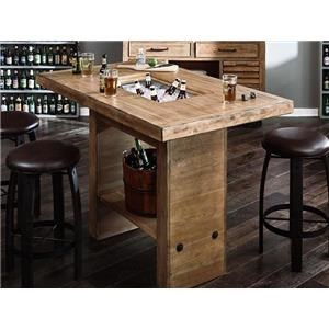 Morris Home Furnishings Brewing Brewing Cooler Table