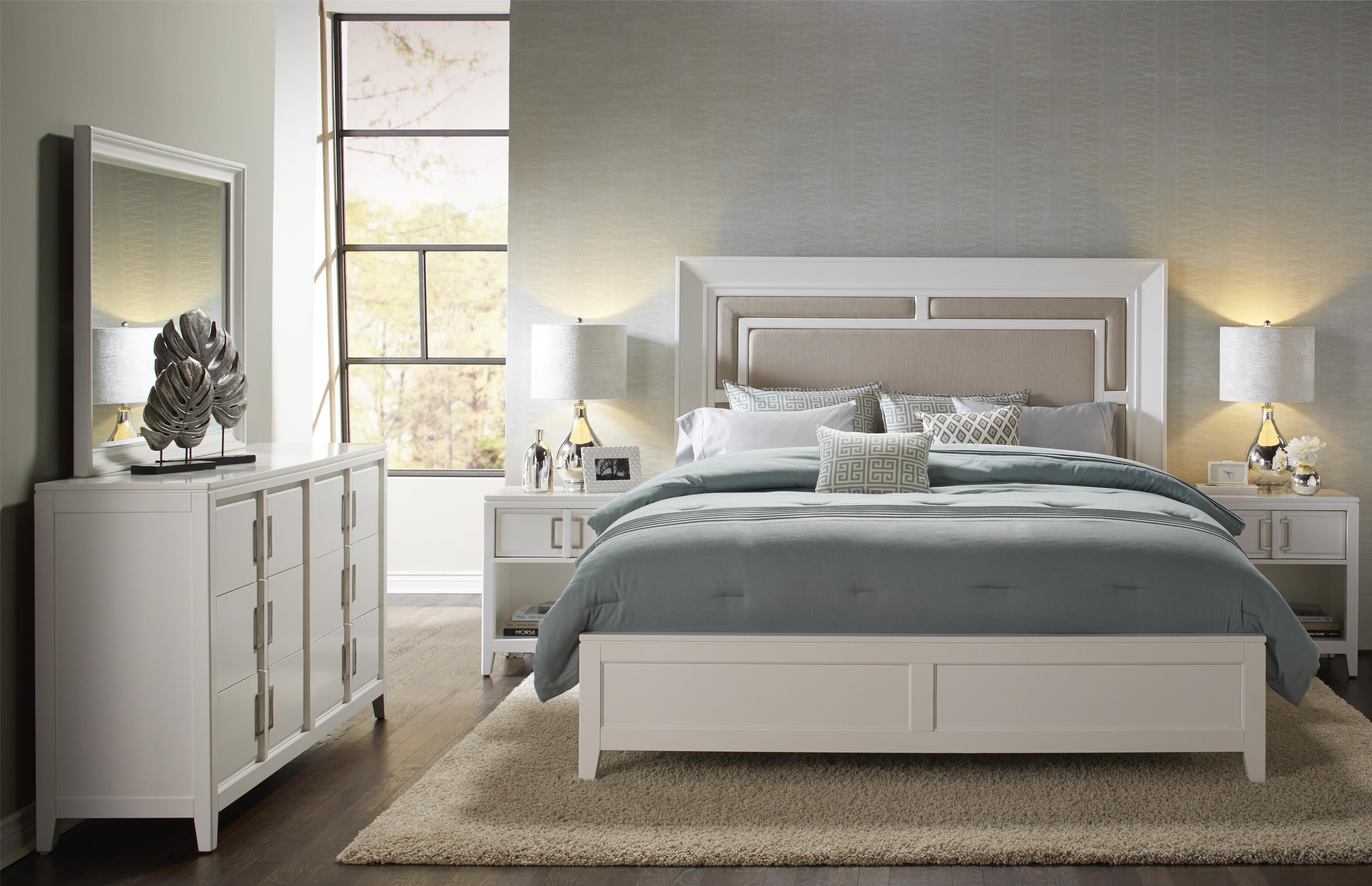 Samuel Lawrence Brighton Cal King Bedroom Group - Item Number: 8673 CK Bedroom Group 1