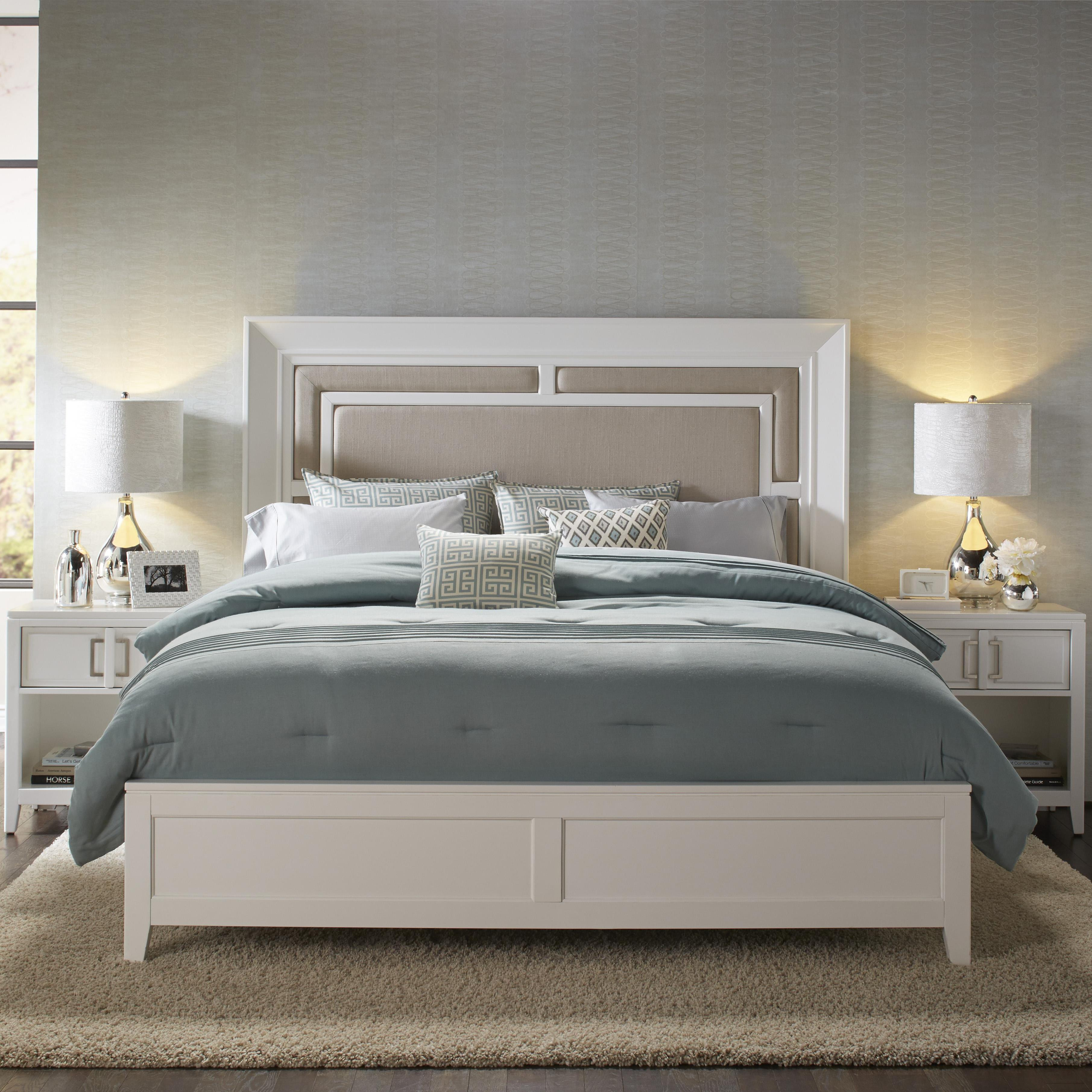 Samuel Lawrence Brighton Queen Bed - Item Number: 8673-250+251+400