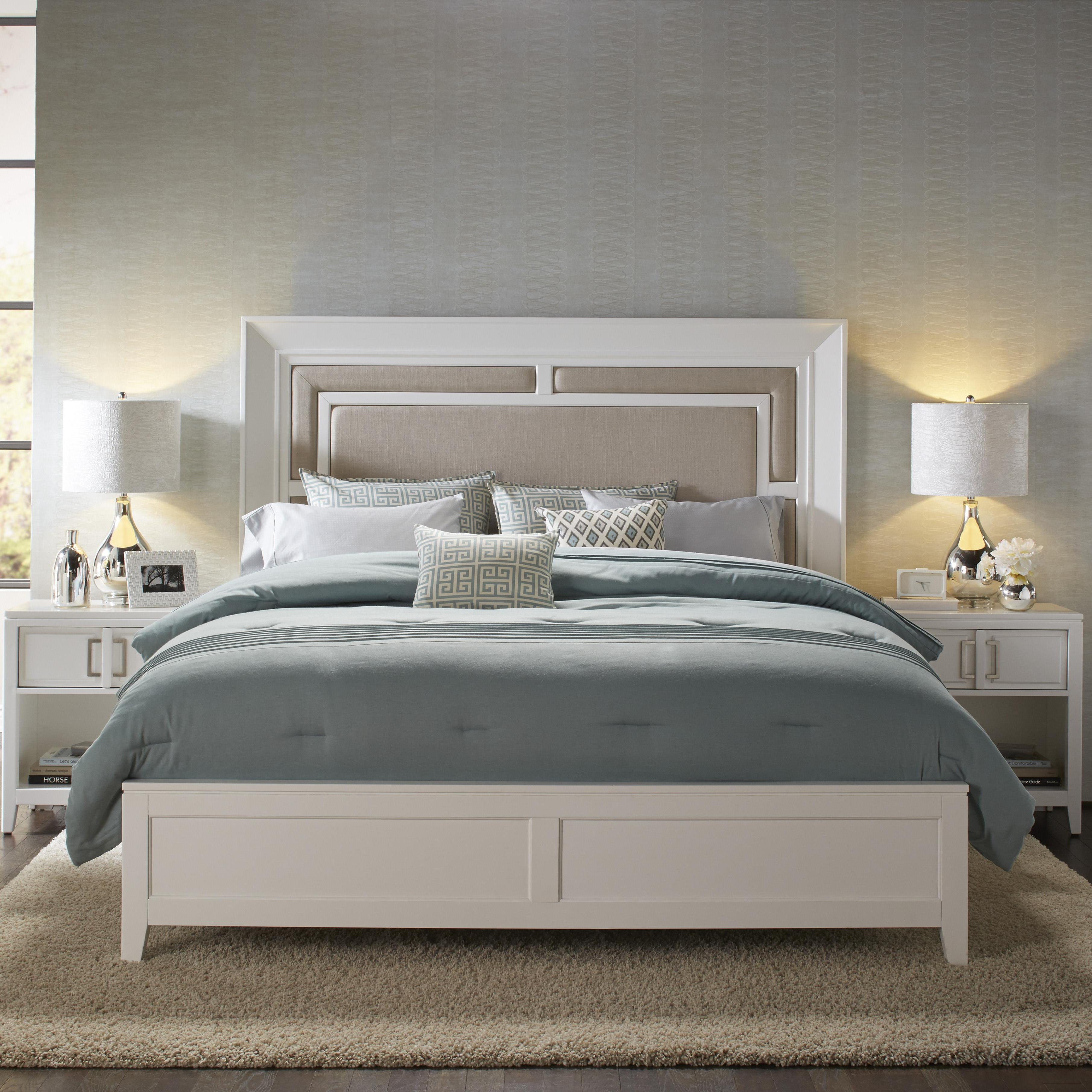 Samuel Lawrence Brighton Cal King Bed - Item Number: 8673-270+271+406