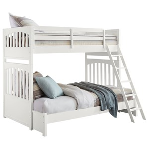 Samuel Lawrence Bunk Beds Twin-Over-Full Bunk Bed