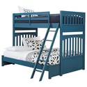 Samuel Lawrence Bunk Beds1 Twin-Over-Full Bunk Bed - Item Number: S301-730+1+3+BRKT-46EXT