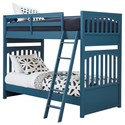 Samuel Lawrence Bunk Beds1 Twin-Over-Twin Bunk Bed - Item Number: S301-730+1