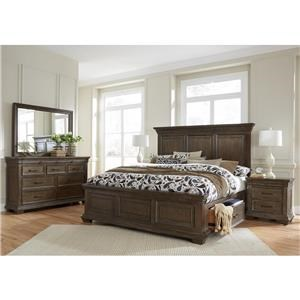 Samuel Lawrence Camden Queen Storage Bedroom Group