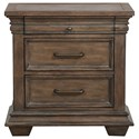 Morris Home Furnishings Cumberland Cumberland Nightstand - Item Number: S174-050