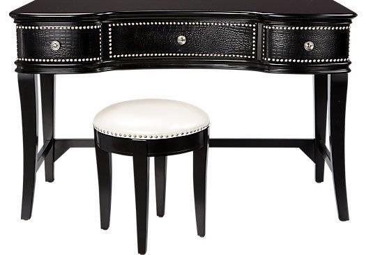 Morris Home Furnishings Castella - Castella Vanity and Stool Set - Item Number: 471275719