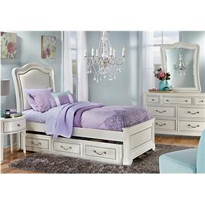 Morris Home Furnishings Castella Castella Twin Panel Bed