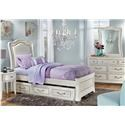 Morris Home Furnishings Castella Castella Twin Panel Bed - Item Number: 475275701