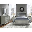 Samuel Lawrence Celestial Queen Bedroom Group - Item Number: 8960 Q Bedroom Group 2