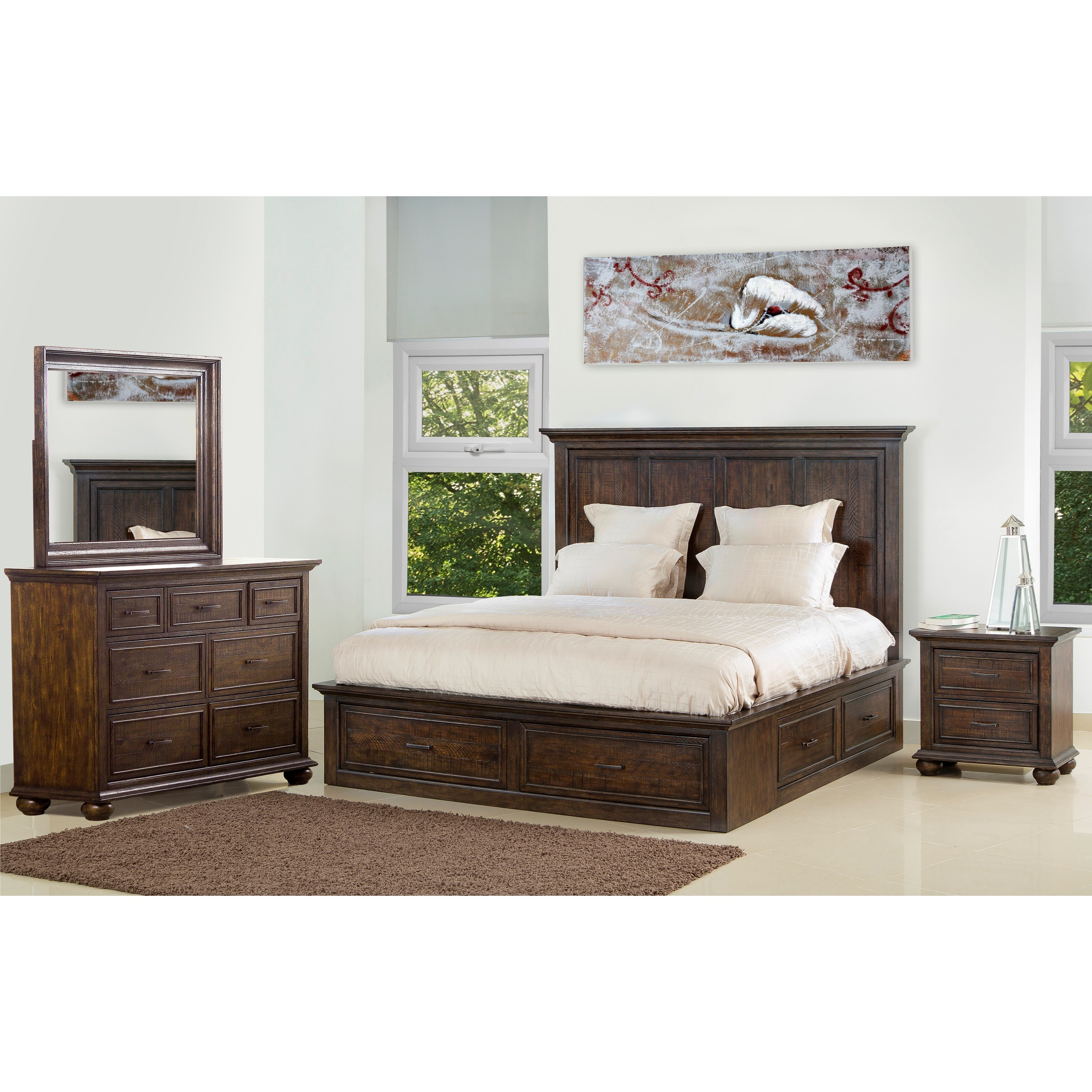 Samuel Lawrence Chatham Park Queen Bedroom Group 1 | Wayside ...
