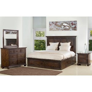Samuel Lawrence Chatham Park Queen Bedroom Group 1