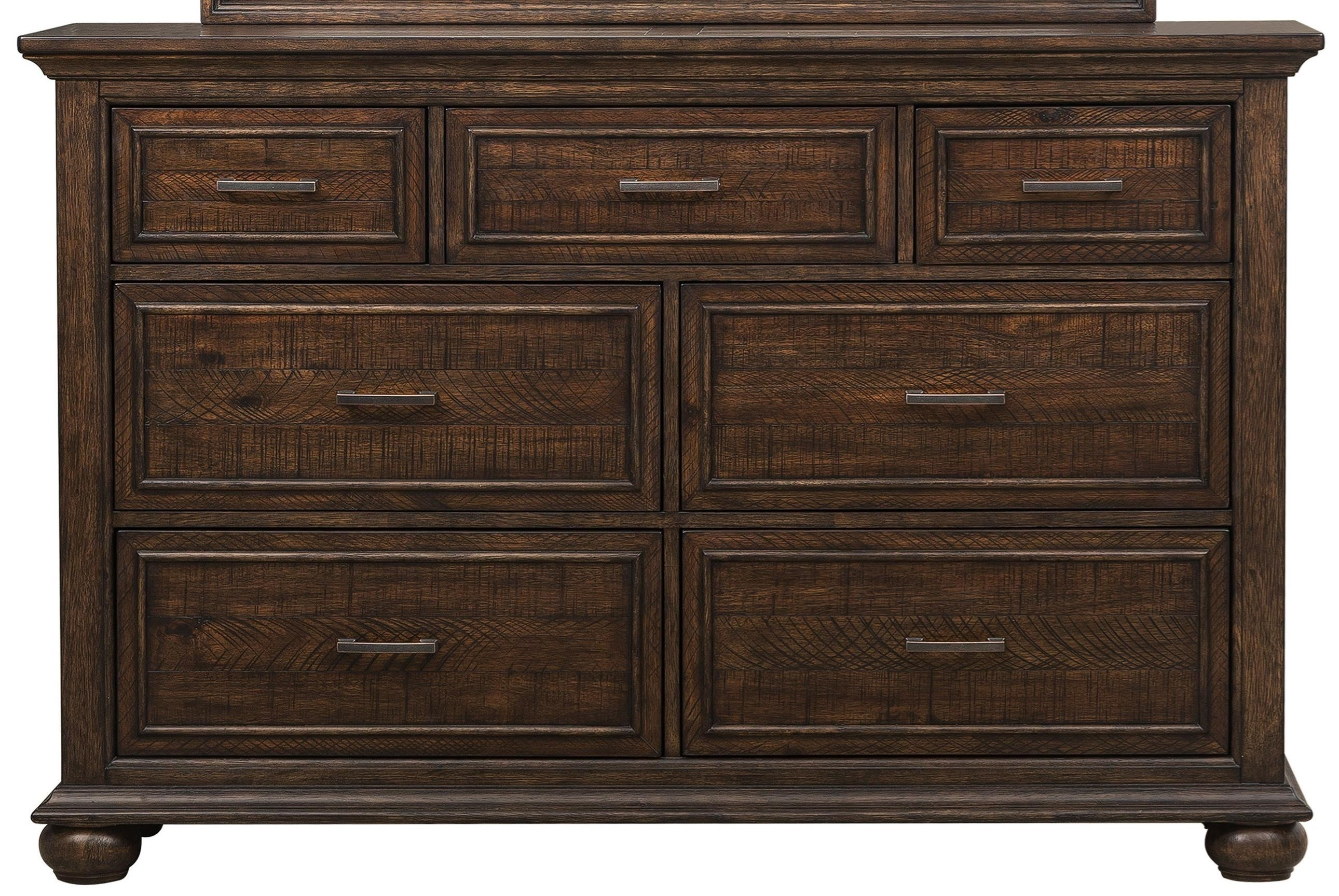Samuel Lawrence Chatham Park 7 Drawer Dresser In Highly