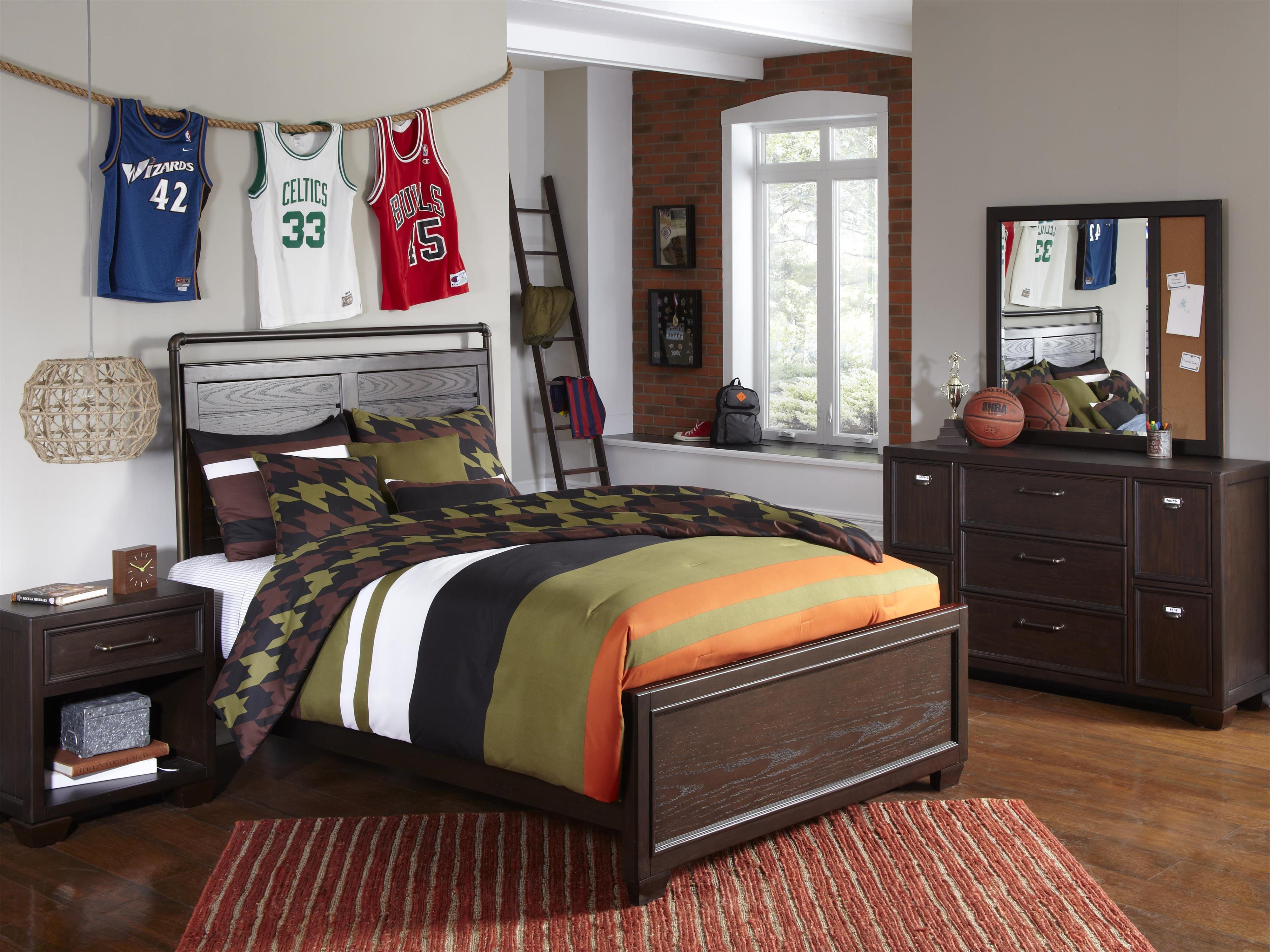Kidz Gear Mason Youth Bedroom Group - Item Number: 8872 T Bedroom Group 1