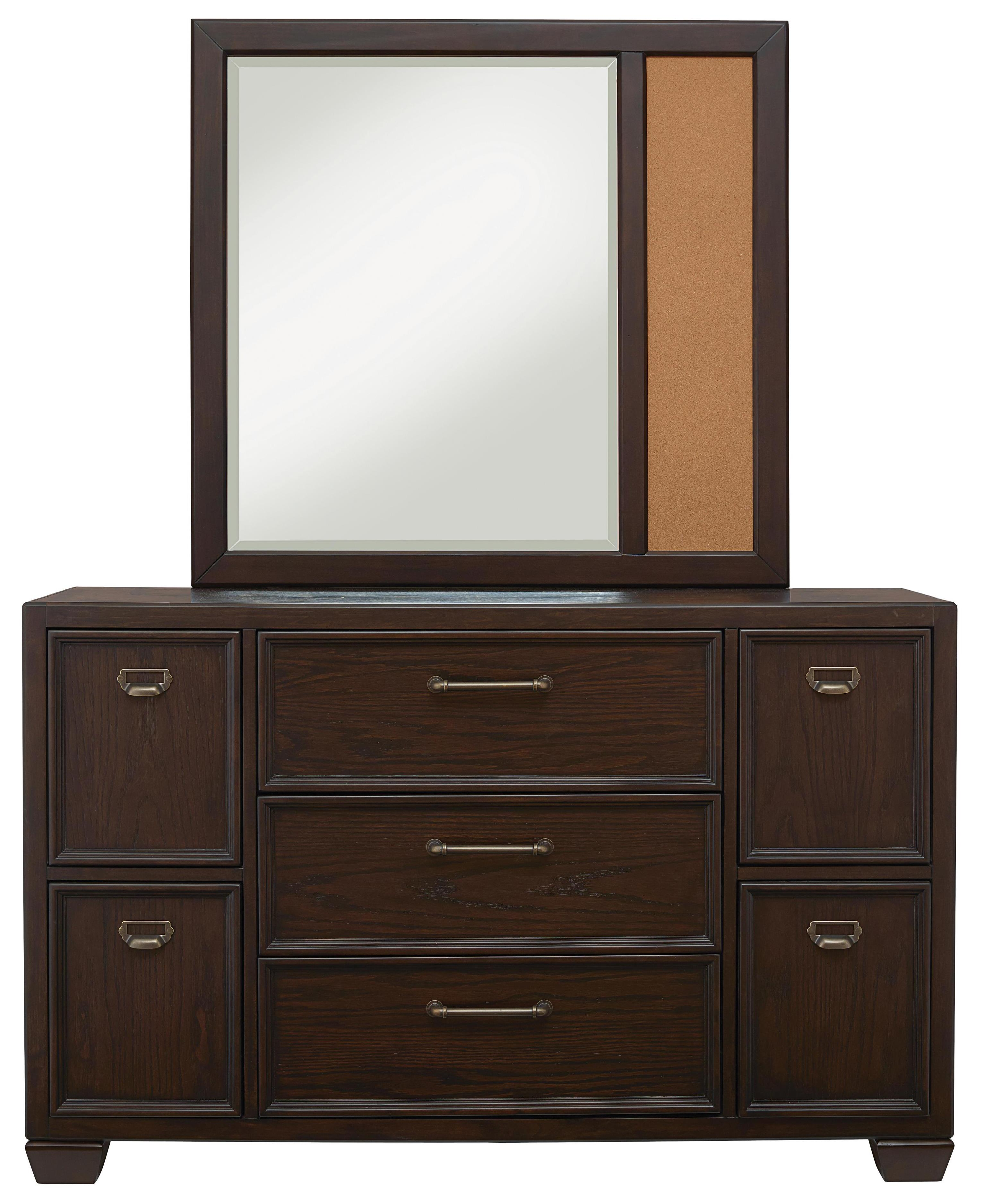 Kidz Gear Mason Dresser and Mirror Set - Item Number: 8872-410+430