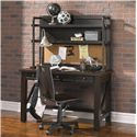 Samuel Lawrence Clubhouse Casual Desk and Hutch