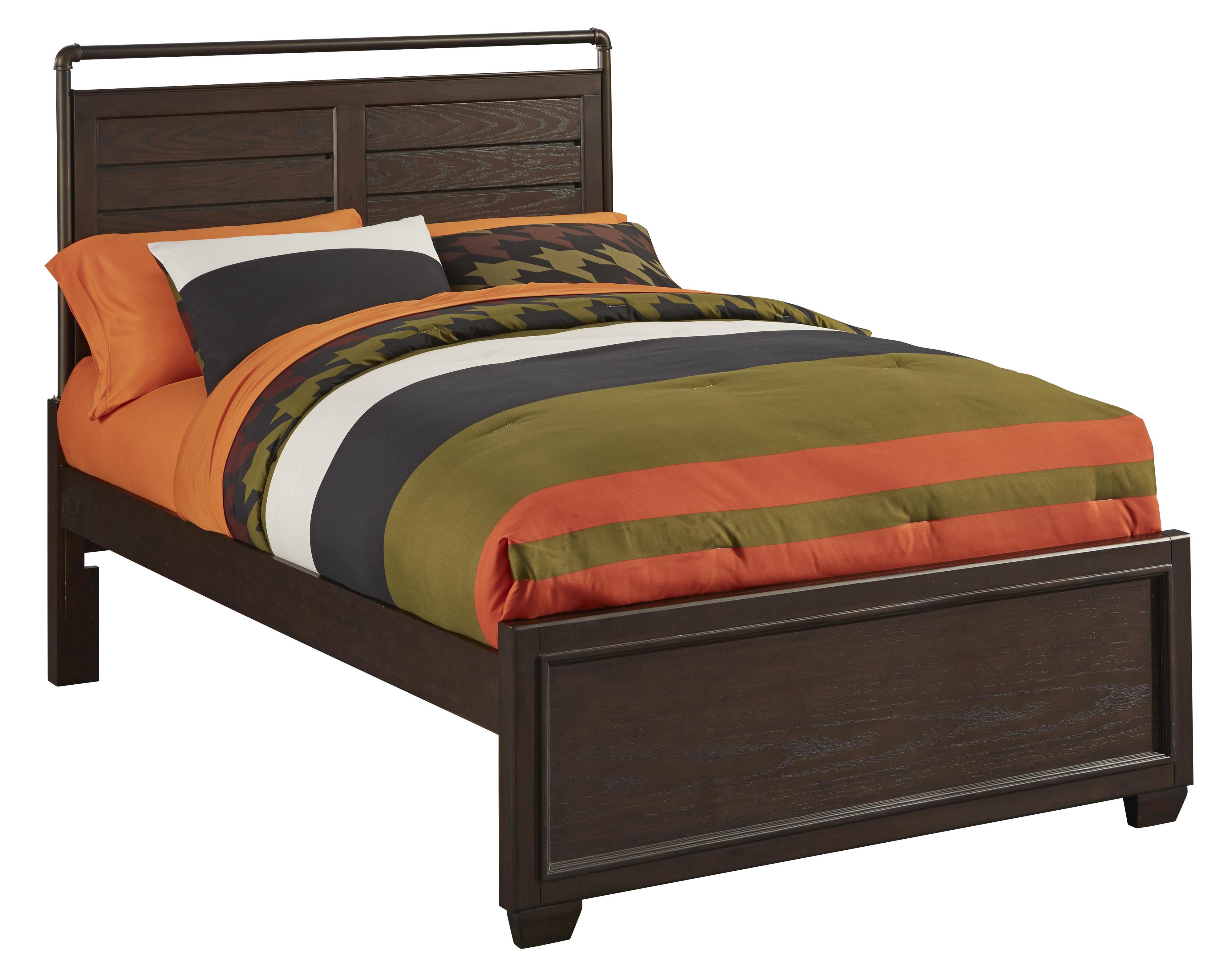 Kidz Gear Mason Twin Bed - Item Number: 8872-531+538+401