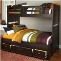 Samuel Lawrence Clubhouse Bunk Bed  - Item Number: 8872-643+730+731+732+733