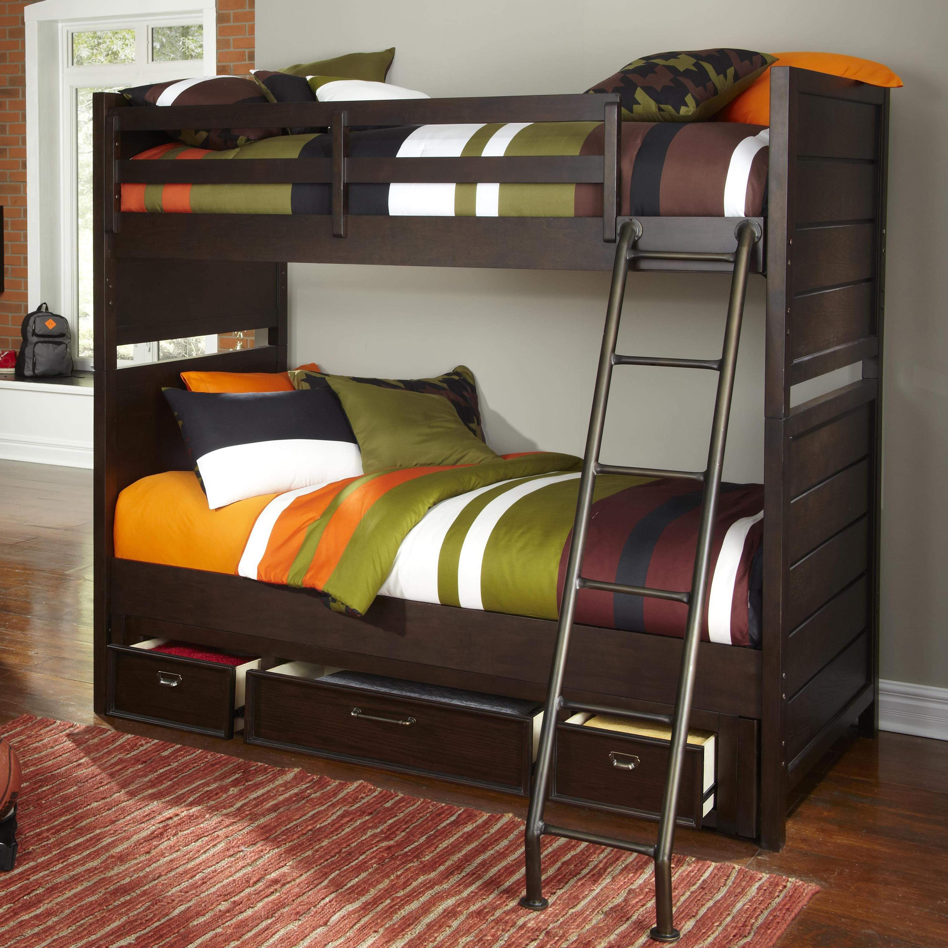 Samuel Lawrence Clubhouse Casual Bunk Bed With Storage