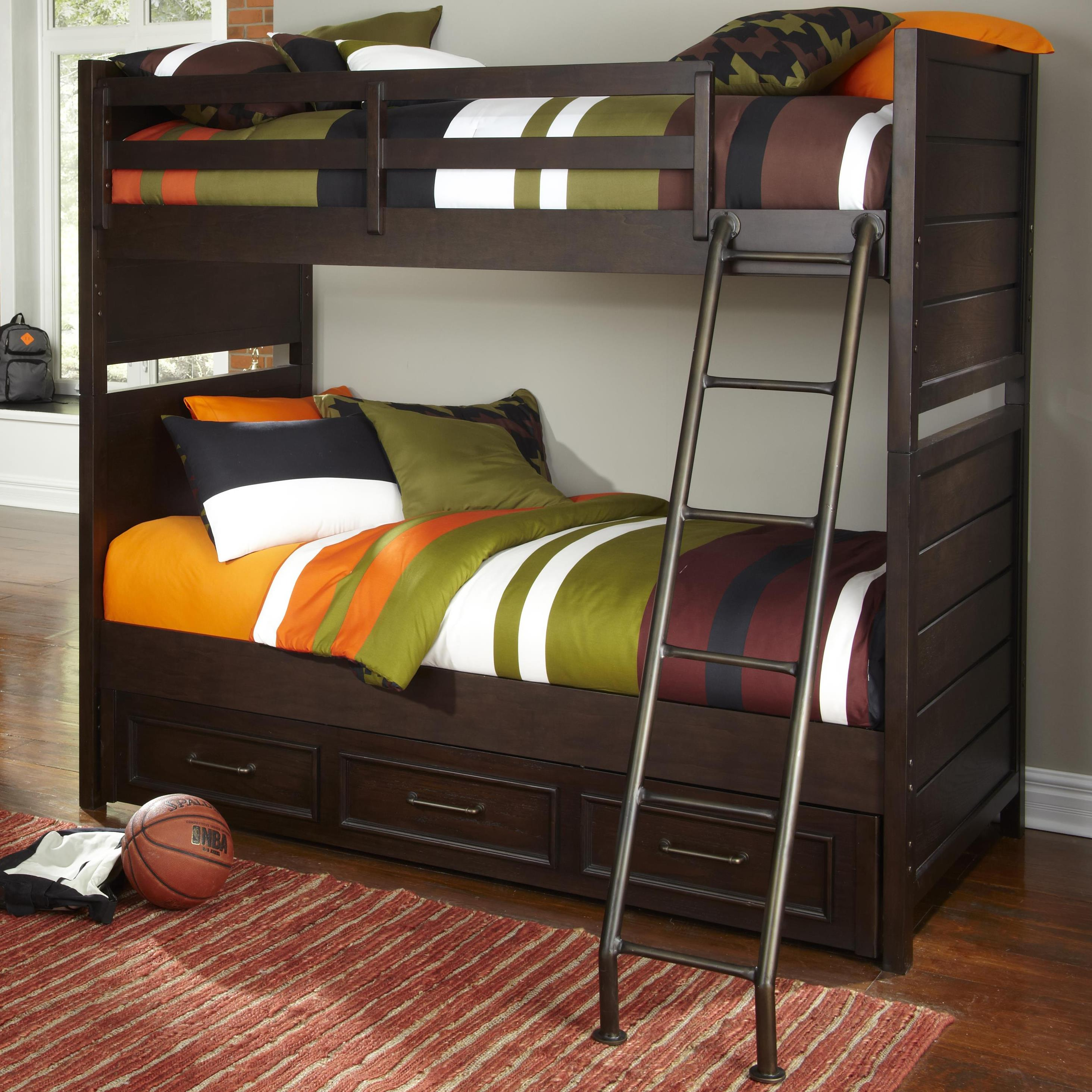 trundle beds with storage trundle storage bunk bed belfort 17585