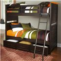 Samuel Lawrence Clubhouse Casual Bunk Bed with Trundle Storage Unit