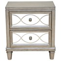 Samuel Lawrence Cut Glass Nightstand - Item Number: S014-050