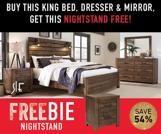 Decker Decker King Bedroom Package with FREEBIE! by Samuel Lawrence at Morris Home