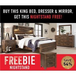 Decker King Bedroom Package with FREEBIE!