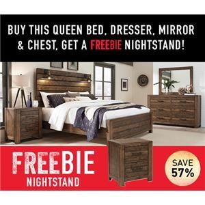 Decker Queen Bedroom Package with Freebie!