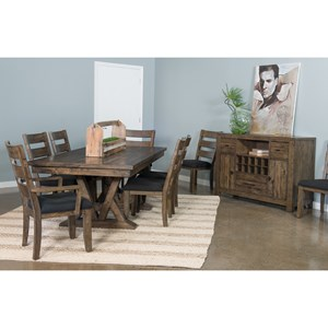 Samuel Lawrence Dakota Formal Dining Room Group