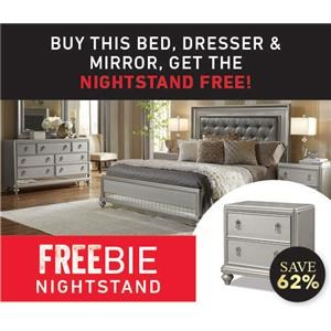 South Beach Queen Bedroom with FREEBIE NIGHT