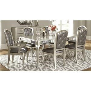 Morris Home Furnishings South Beach South Beach 5-Piece Dining Set