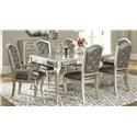 Morris Home Furnishings South Beach South Beach 5-Piece Dining Set - Item Number: 3358121083