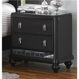 Morris Home Furnishings South Beach South Beach Nightstand