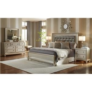 Samuel Lawrence Diva King Bedroom Group