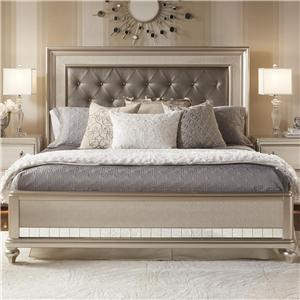 Morris Home Furnishings South Beach South Beach Queen Panel Bed