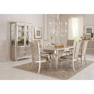 Samuel Lawrence Dynasty Formal Dining Room Group