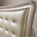 Samuel Lawrence Dynasty Queen Bed with Tufted Upholstered Headboard