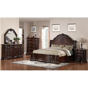 Samuel Lawrence Edington King Bedroom Suite