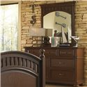 Samuel Lawrence Expedition Youth Dresser w/ Beveled Mirror - 8468-410+430