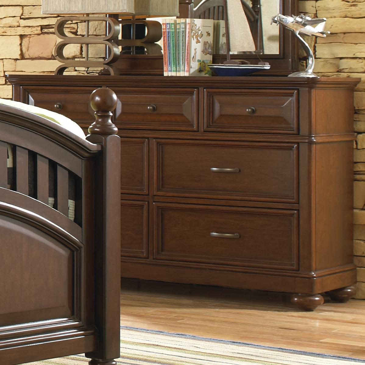 Morris Home Furnishings Edgewood Edgewood Dresser - Item Number: 8468-410