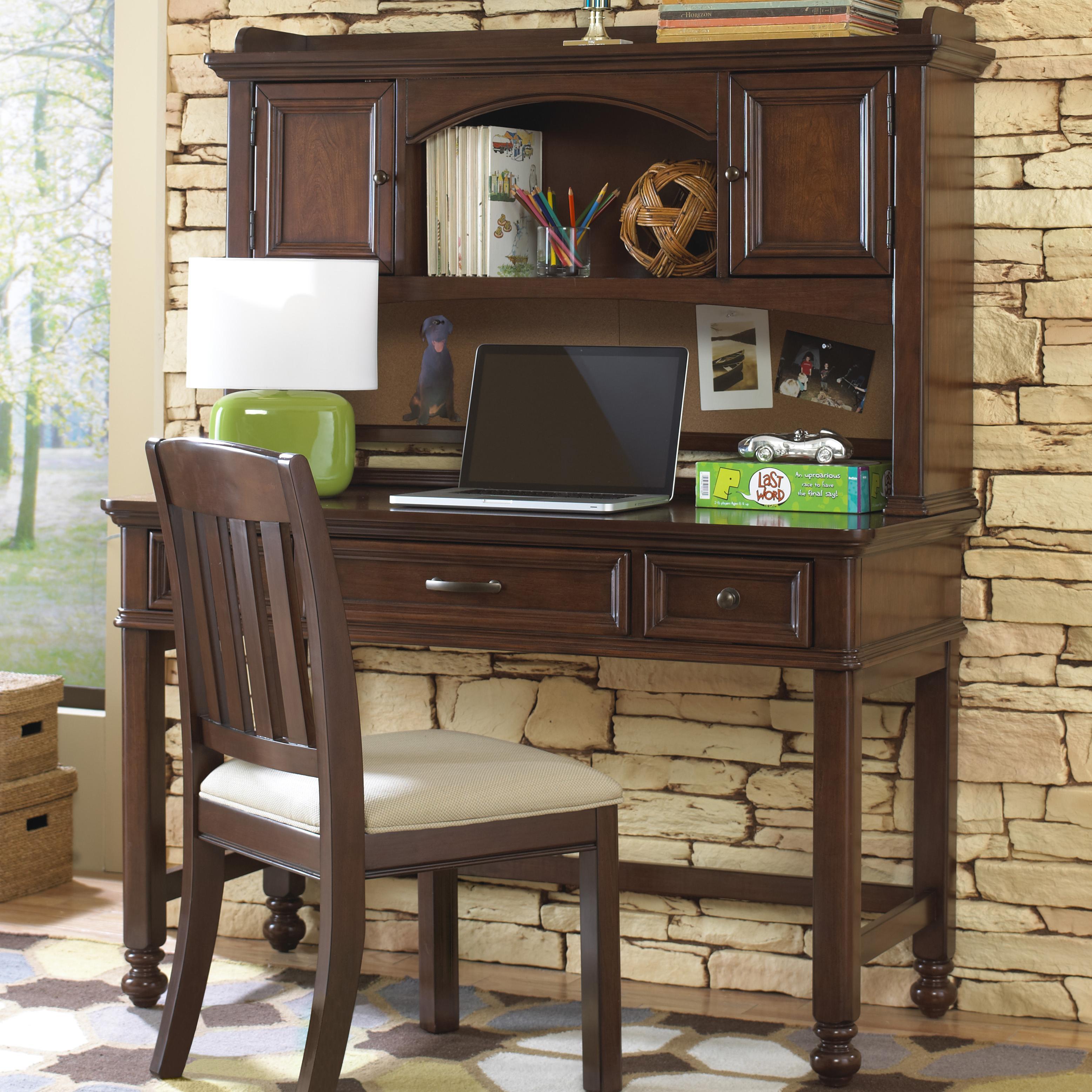 Kidz Gear Griffin Desk with Hutch - Item Number: 8468-414+453