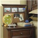 Morris Home Furnishings Edgewood Nightstand - Shown with Nightstand Back Panel