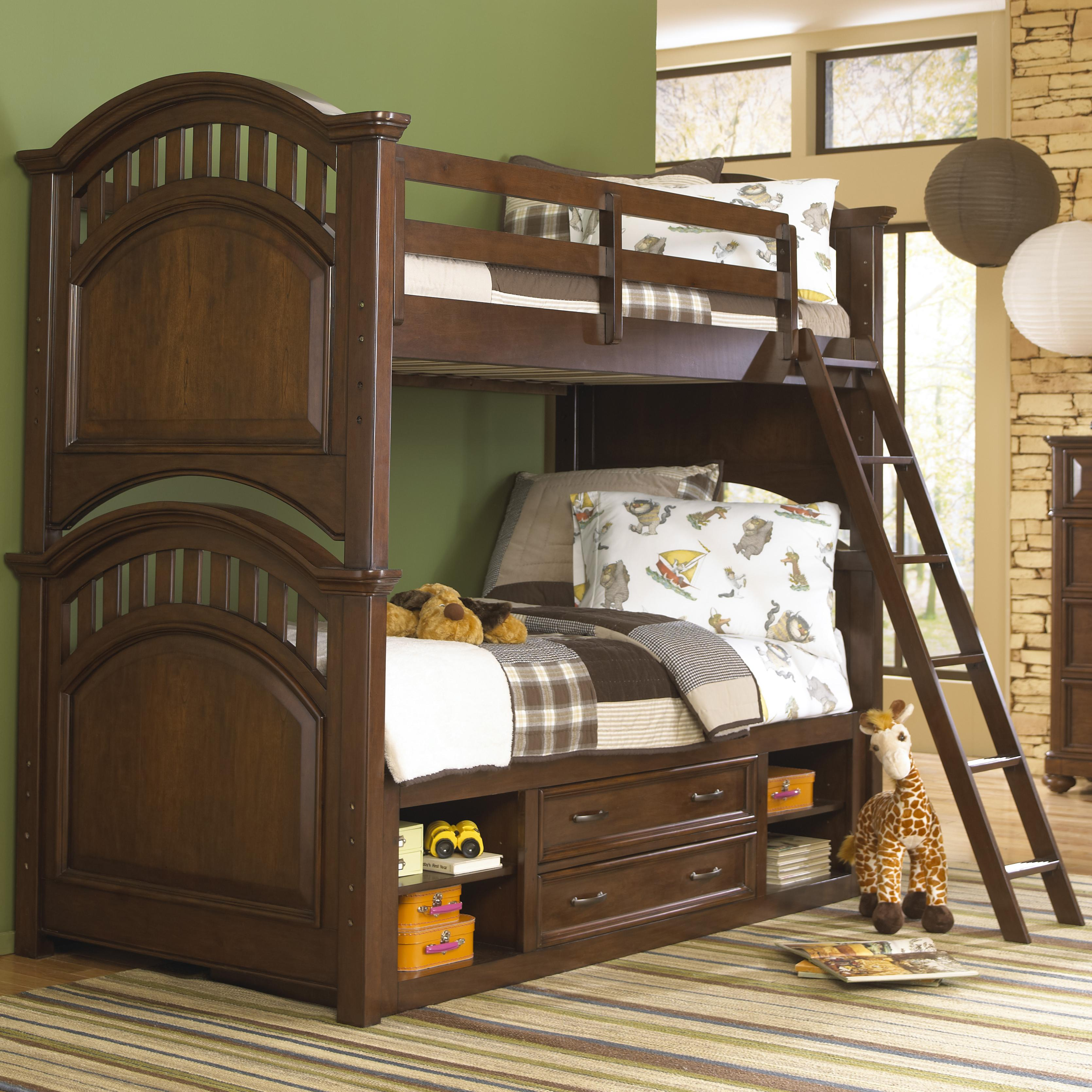 Twin Bunk Bed w/ Storage