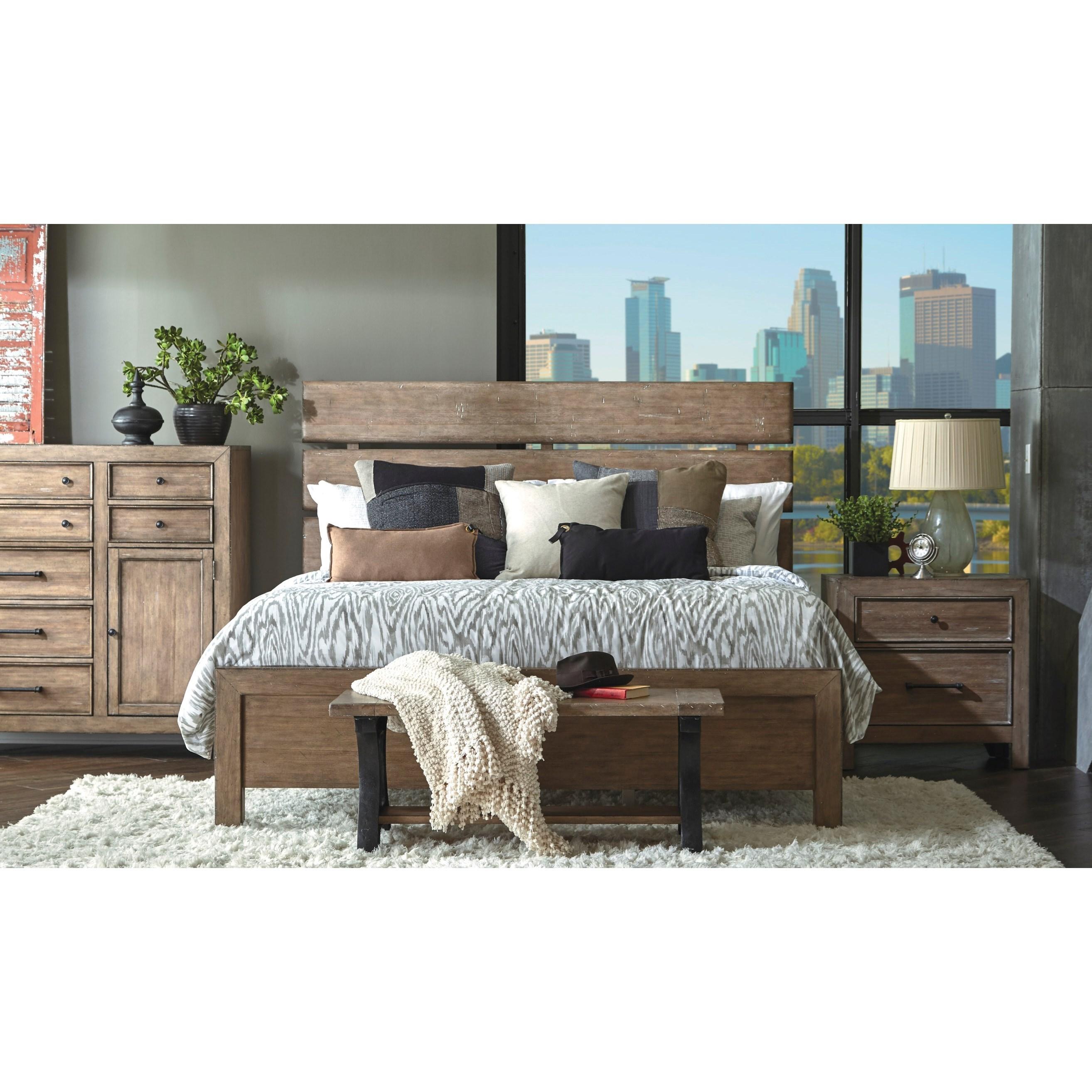 Samuel Lawrence Flatbush Queen 6-Piece Bedroom Group | Royal ...