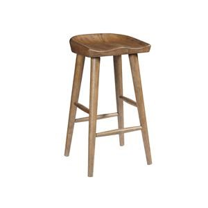 "Morris Home Furnishings Frankenberg Frankenberg Saddle 30"" Bar stool"