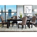 Samuel Lawrence Fulton Street 5 Piece Table and Chair Set - Item Number: S086-135+2x150+2x151