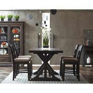 5 Piece Gathering Table and Chair Set