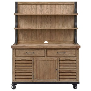 Samuel Lawrence Craft Brew Draft House Cabinet & Hutch