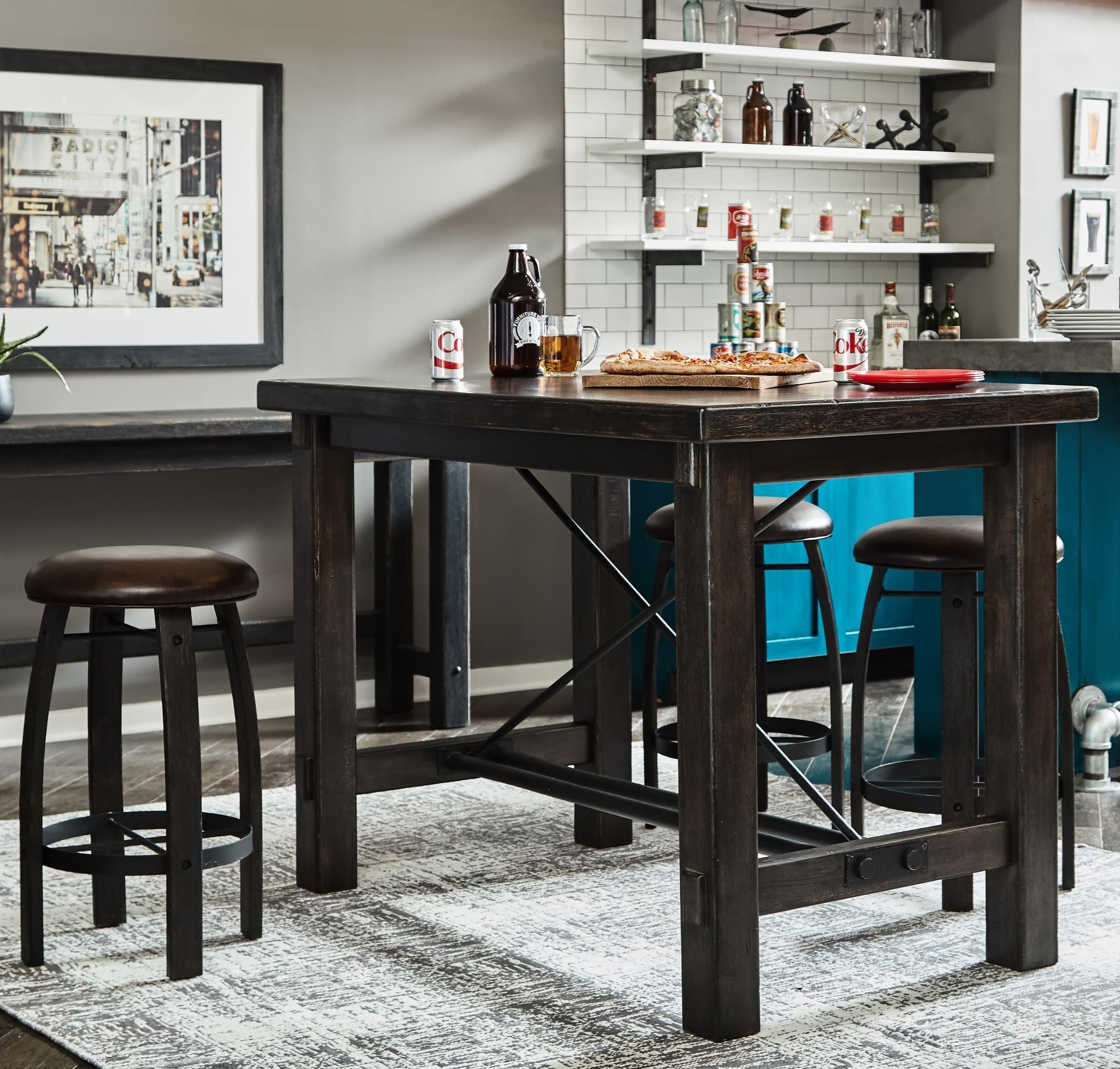 5-Piece Bar Table Set