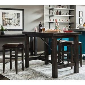 5-Piece Bar Leg Table Set